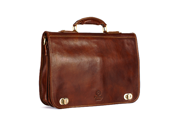 Capaci Business Handbag in great quality and design by Moretti Milano