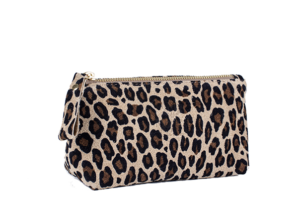 Leopard Make up Wallet by Moretti Milano, 10001 Made in Italy Genuine Leather.jpg