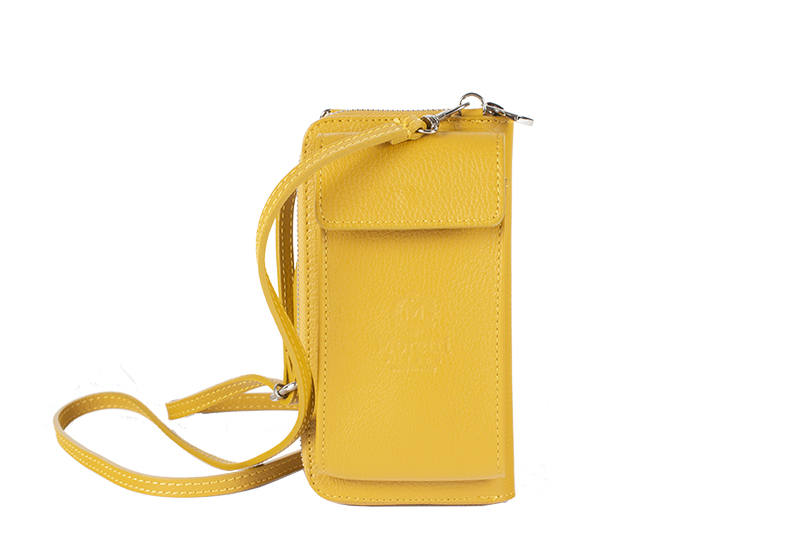 Atessa by Moretti Milano phoneholder  Yellow color Made in Italy