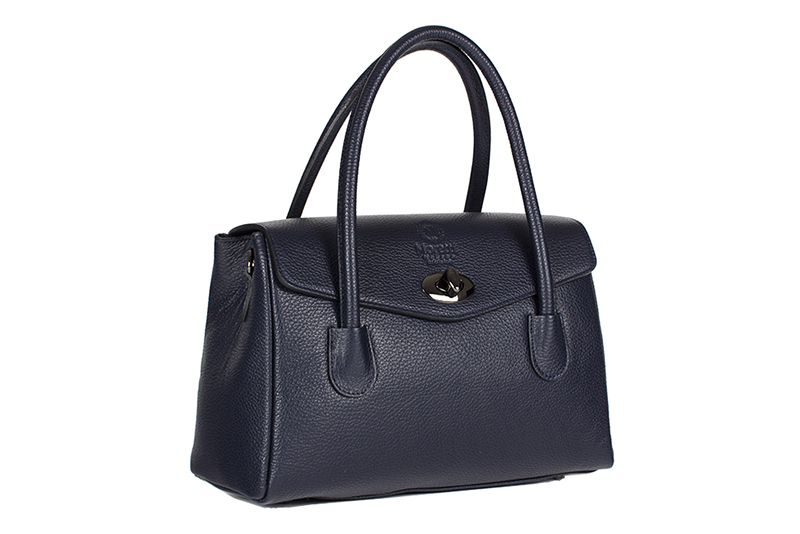 Fasano by Moretti Milano Made in Italy Genuine leather Blue color
