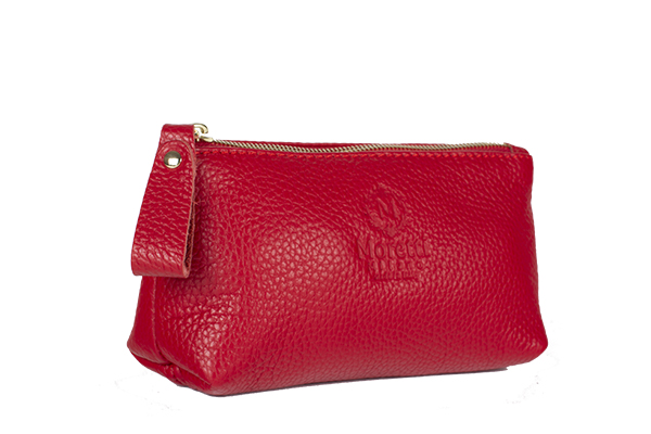 MaKe Up Wallet small size red color 10001 Moretti Milano