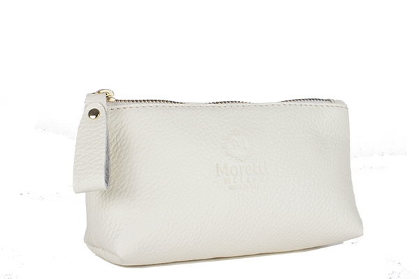 Make Up Wallet Beige color 10001 S Moretti Milano