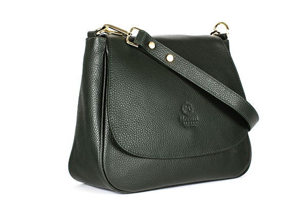 Matera a by Moretti Milano Green color S 14480 fashion bag